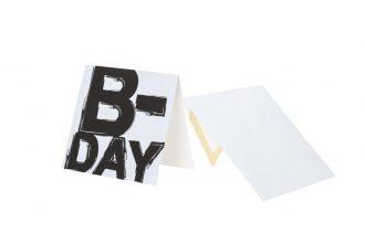כרטיס ברכה B-day