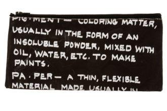 קלמר קנבס Handwriting | פיגמנט | אותיות קטנות | בצבע שחור