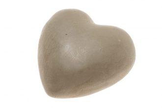 סבון לב בצבע חום